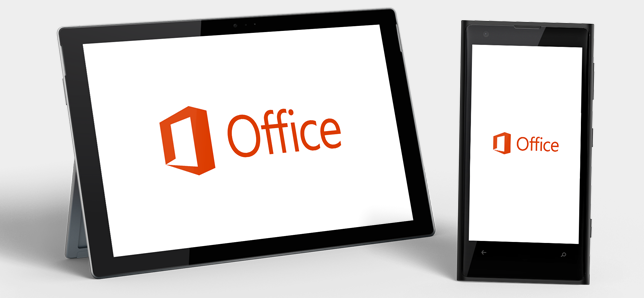 Office ophalen voor de tablet of smartphone